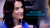 Routine Vaccination poster